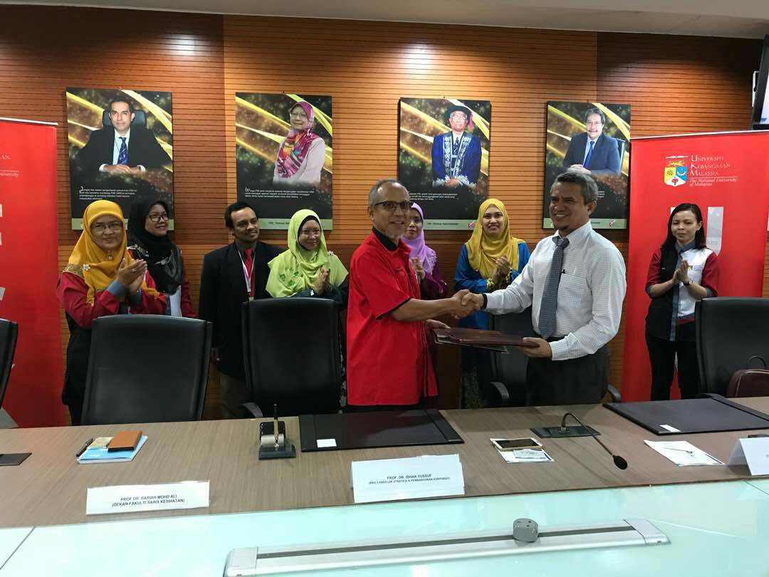 Memorandum of Understanding between Universiti Kebangsaan Malaysia and Tamura Electronics (M) Sdn. Bhd.